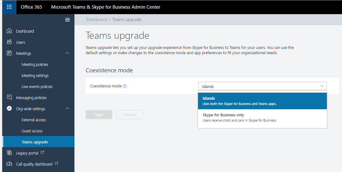 Microsoft Teams & Skype for Business Admin Center | The UC