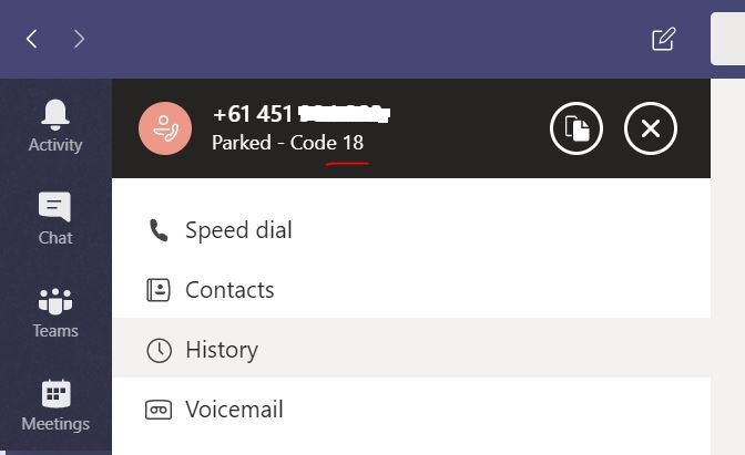 Call Park and Retrieve in Microsoft Teams   The UC Techie